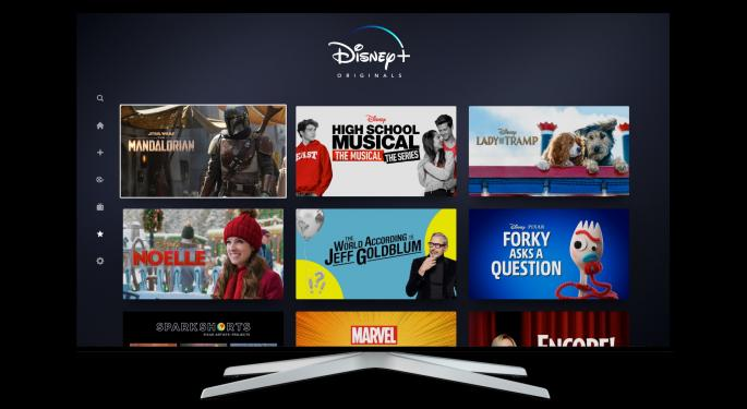 Disney Trades Higher On Q4 Earnings Beat; Iger Announces Distribution Deal With Amazon