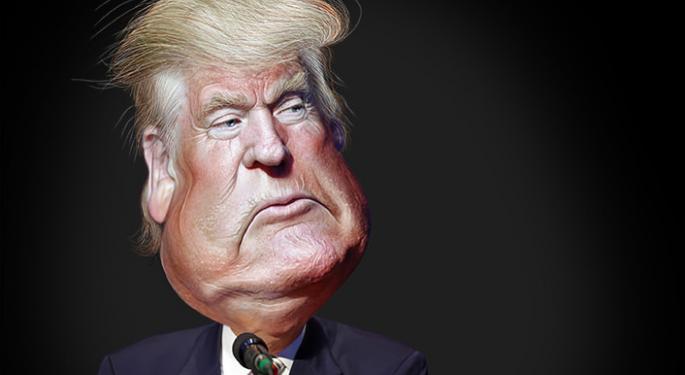 Trump Helps Knock Lockheed Martin Down A Few Bucks
