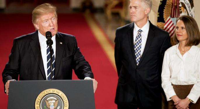 How Will Trump's Supreme Court Pick Affect The Economy?