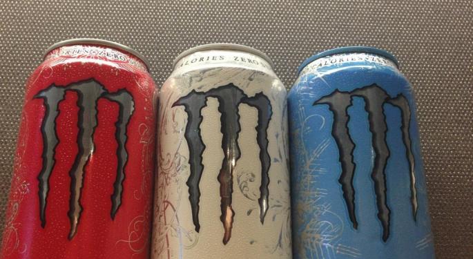 BMO Downgrades Monster Beverages After Hitting 'Peak Valuation'
