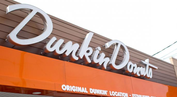 KeyBanc Previews Dunkin Brands Q4 Earnings, Says Coffee Chain Set For EPS Beat