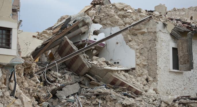 Major Earthquake Shakes Peru