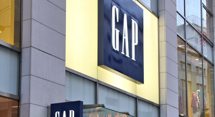 Gap Jumps as Sales Call Leaked