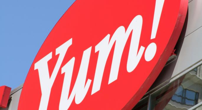 Yum! Continues Climb on Better-Than-Expected Sales in China