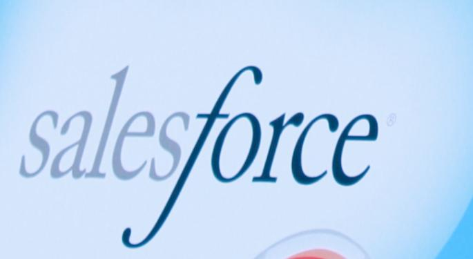 UPDATE: Salesforce Rises After Q4 Results