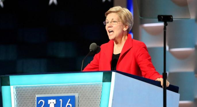 Sen. Elizabeth Warren Pens Letter To Department Of Justice And FBI