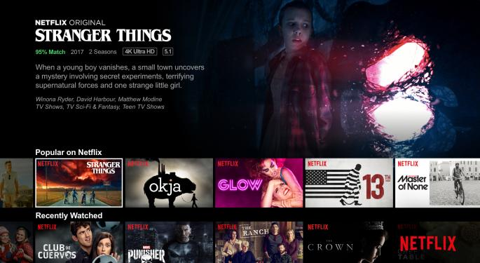 Wall Street Previews Netflix's Q4 Earnings: Rising Subscriber Numbers Drive Bullish Projections