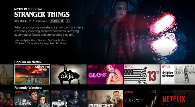 SunTrust Cuts Netflix Price Target, Doesn't Expect Upside In Q4 Subscribers