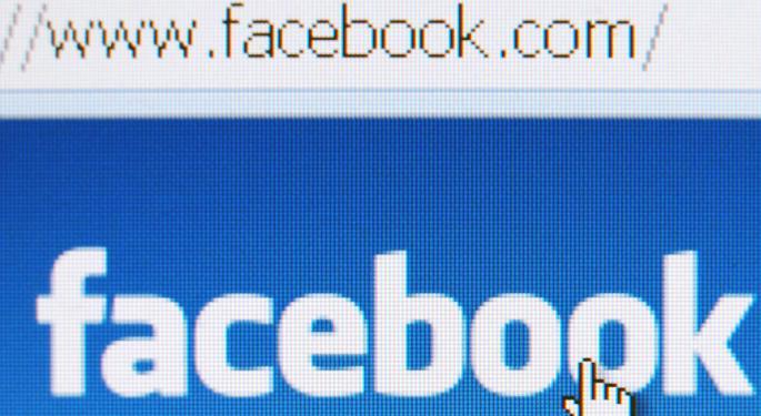 Facebook Stock Powers Toward Gap Magnet