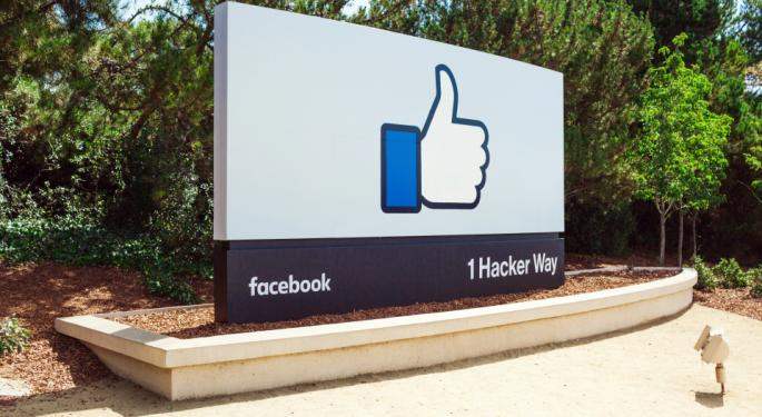 "Facebook Has Investors Hitting The ""Like"" Button"