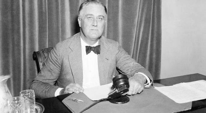 This Day In Market History: Investors Unfazed By FDR's Death