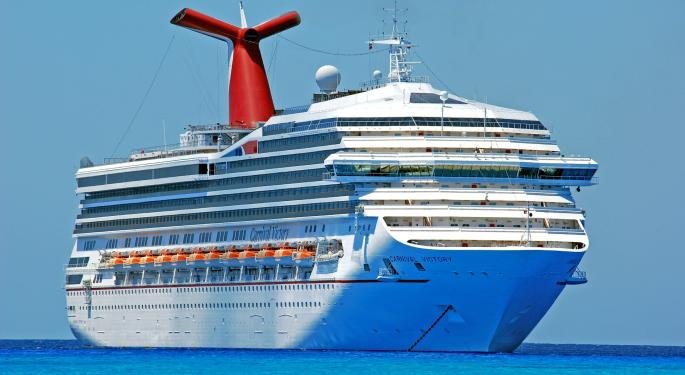 Wedbush Slashes Carnival Price Target Amid Weakness In Continental Europe