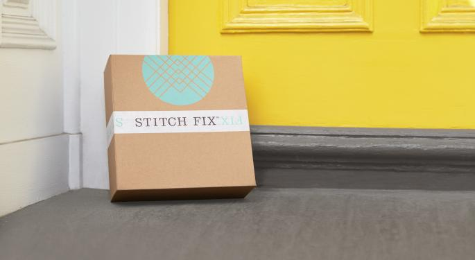 Stitch Fix Falls After Piper Jaffray Downgrade; Analyst Says 'Smallest Hint Of Pressure' Could Threaten Valuation