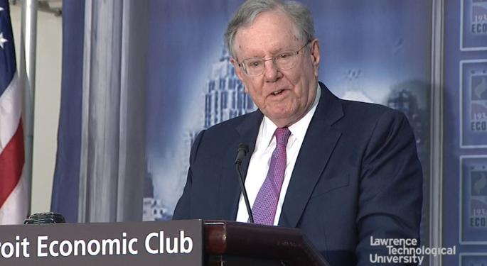 Steve Forbes Criticizes Trade War: 'Tariff Is Another Word For Sales Tax'