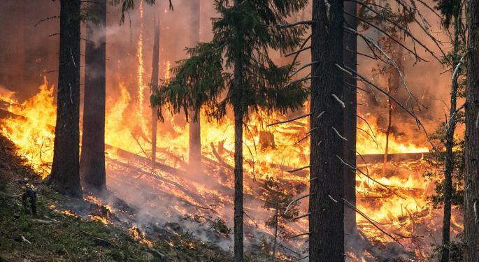PG&E Drops Another 25% After $3B Wildfire Drawdown