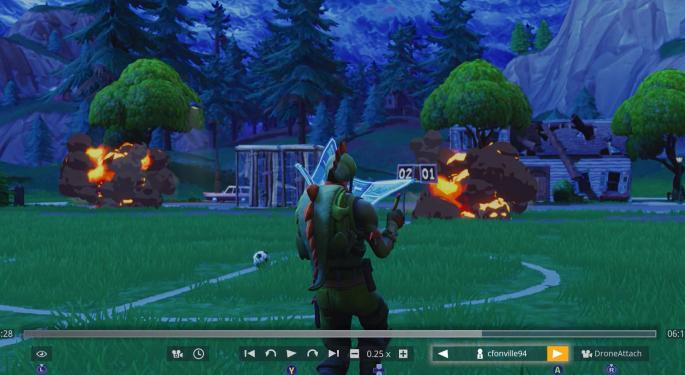 The 'Fortnite' Impact: Gaming Companies Lose To Popular Battle Royale Title