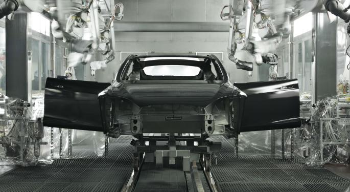 Report: Tesla Planning For Production Bump At Fremont Plant