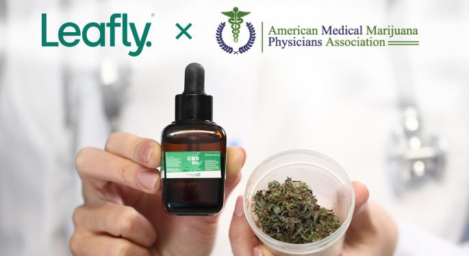 Leafly, American Medical Marijuana Physicians Association Discuss New Partnership