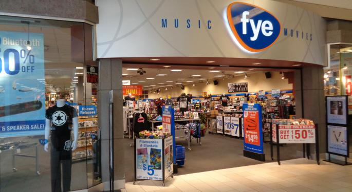 Trans World Entertainment Will Sell FYE For $10M In Cash