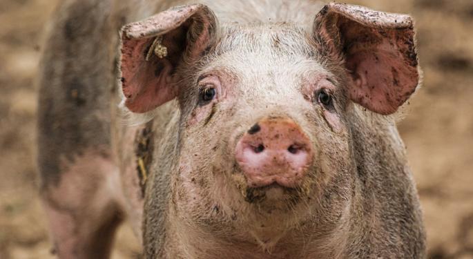 Pork Prices Skyrocket 110% In China, Consumer Prices Rise 4.5%
