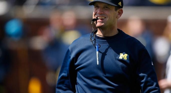 Jim Harbaugh Speaks To Millennials