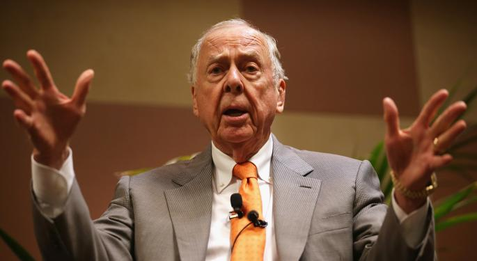 How T. Boone Pickens Wants To Transform Energy
