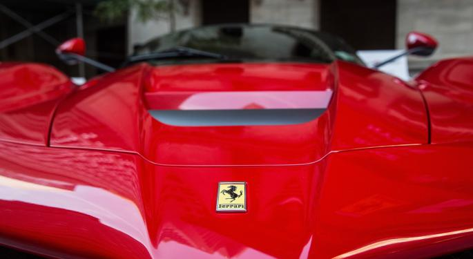 Ferrari Races Into Its First ETF Home
