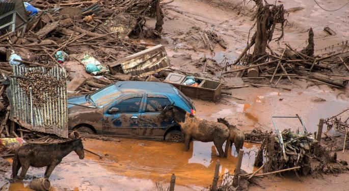Vale, BHP Billiton Shares In Free-Fall After Dam Disaster