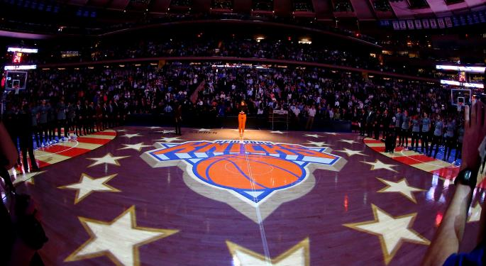 Knicks Firing Derek Fisher Is Good For Madison Square Garden Stock