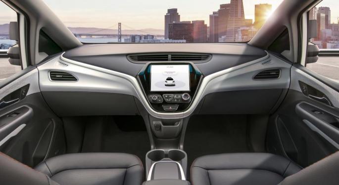 GM Surges Forward On SoftBank Investment In Autonomous Vehicle Segment