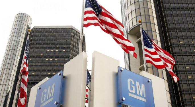 Sell General Motors On China Risk: Morgan Stanley