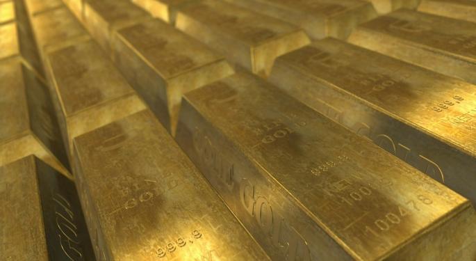 Powell Pushes Gold ETFs Higher... Sort Of