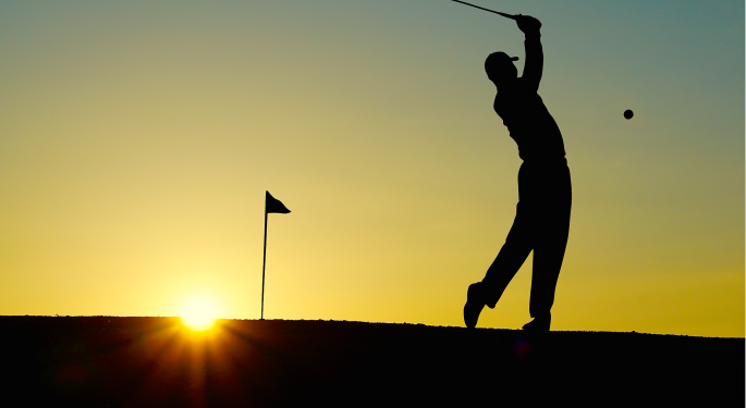 Titleist Holds An Industry-Leading Share Of The Golf Market