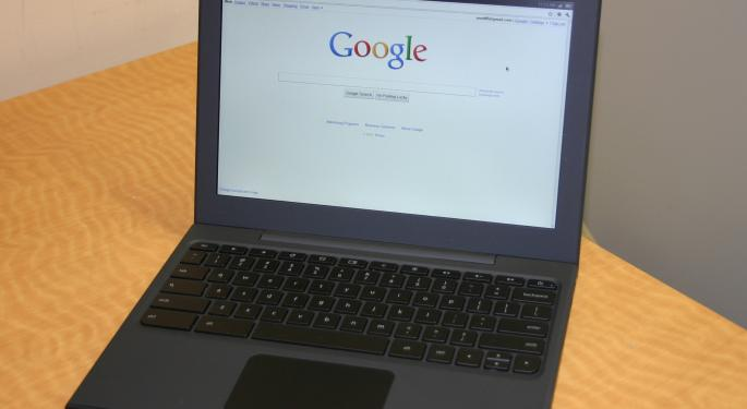 Google May Launch Own-Brand 12.85-Inch Chrome OS Touch-Controlled Notebook