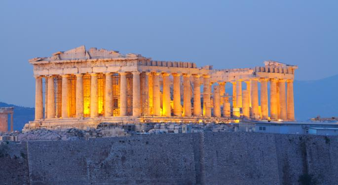 Greece, Egypt ETFs Hit Multi-Month Lows on MSCI News
