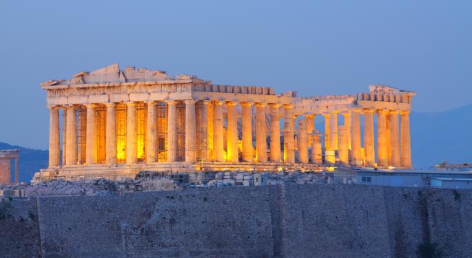 Greece, Egypt ETFs Hit Multi-Month Lows on MSCI News