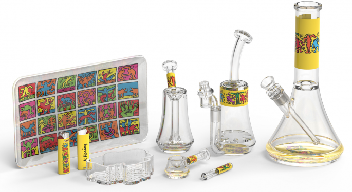 Art And Cannabis Getting Extra: Crumb's $690,000 Weed Drawing, Keith Haring's Bongs Line