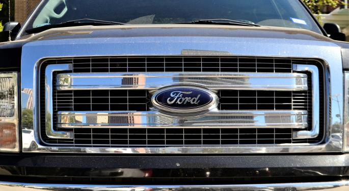 Analysis: Ford's Chart Suggests Stock Could Be Headed To $12