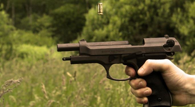 Gun Sales Dip In January