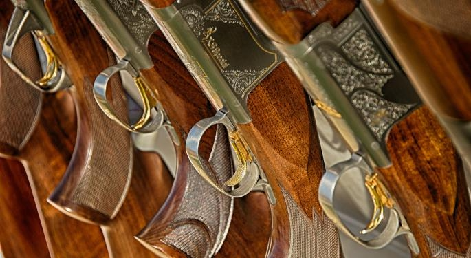 Firearms Seeing Sharp Increase In Promotions; Analyst Expresses Concern For American Outdoor Brands