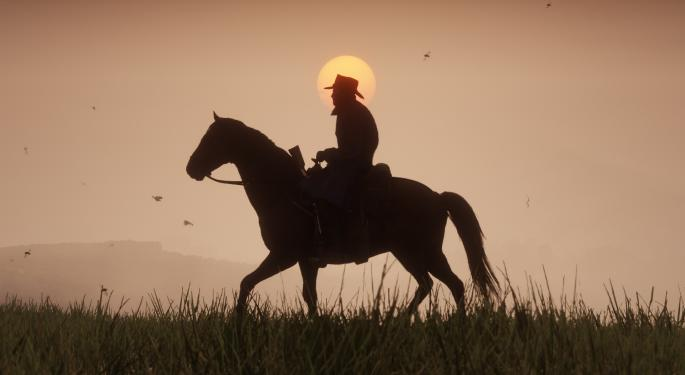 Take-Two's 'Red Dead Redemption 2' Has Blockbuster Release Weekend