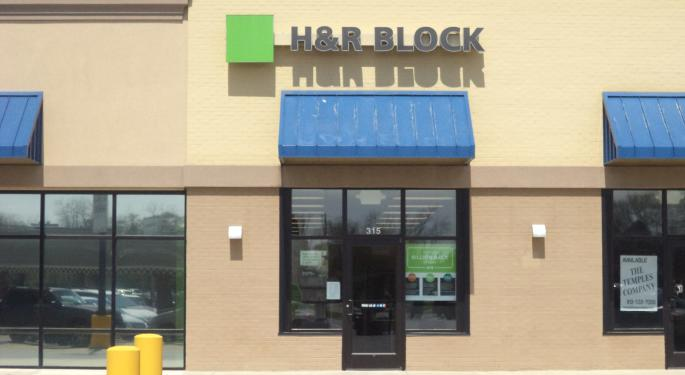 Trump Tax Code Initiatives May Increase The Bear Case For H&R Block