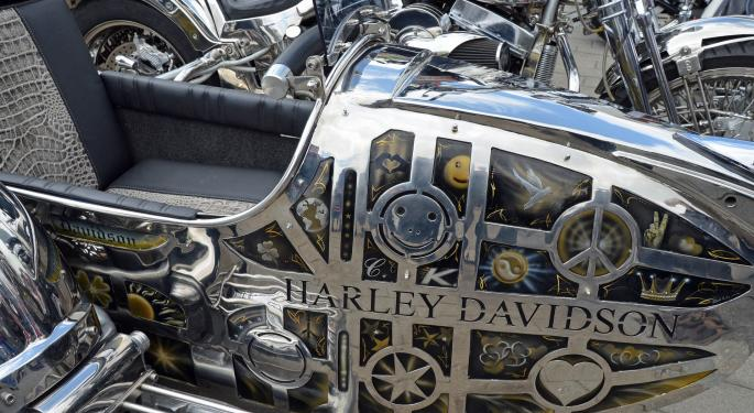 Baird Downgrades Harley-Davidson Following Takeout Speculation Rally