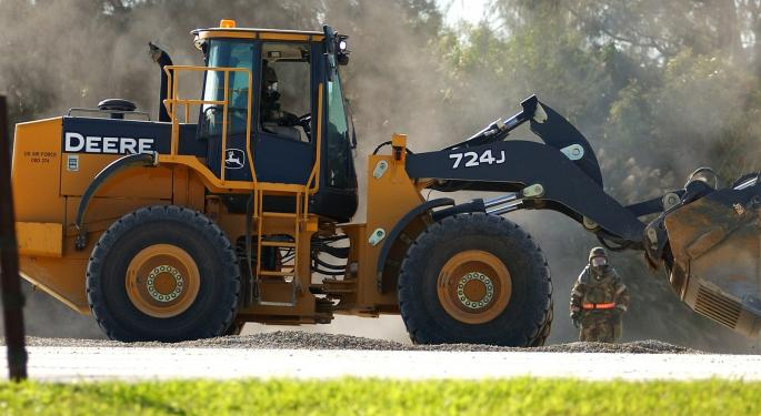Avondale Partners Says It's Time To Buy Deere, Joy Global And Other Machinery Stocks