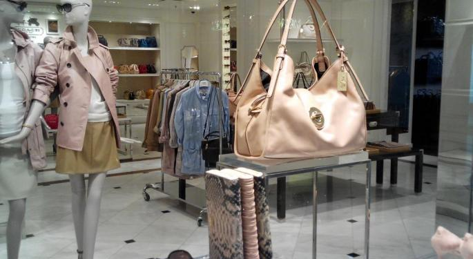 Coach Needs Time To 'Digest' Kate Spade, Stock Could Take Time To Adjust
