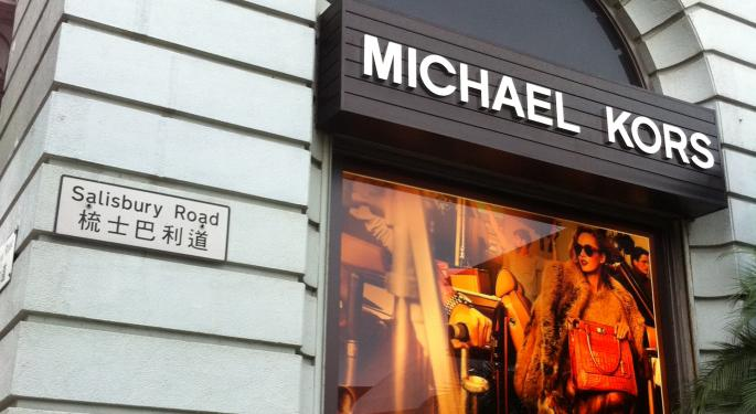 Canaccord Not Looking To Snatch Shares Of Michael Kors Ahead Of Challenging Q2