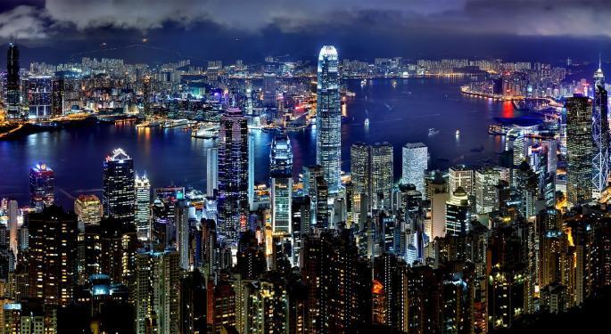 Report: Hong Kong Protester Shot On China Anniversary