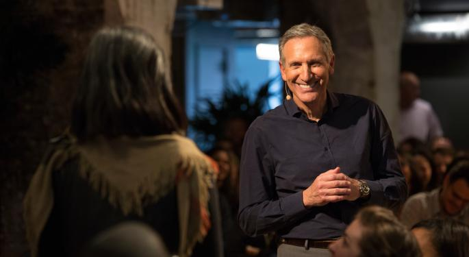 Howard Schultz For President? Maybe