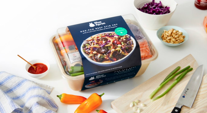 Rival Meat Subscription Investor Wants To Purchase Blue Apron