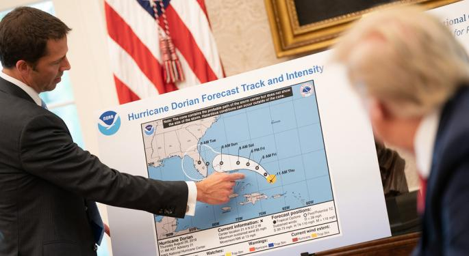 Hurricane Dorian Lasts Another Day Along US Coast